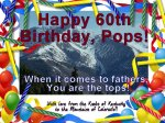My Father Turns 60!