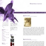 Purple WordPress theme