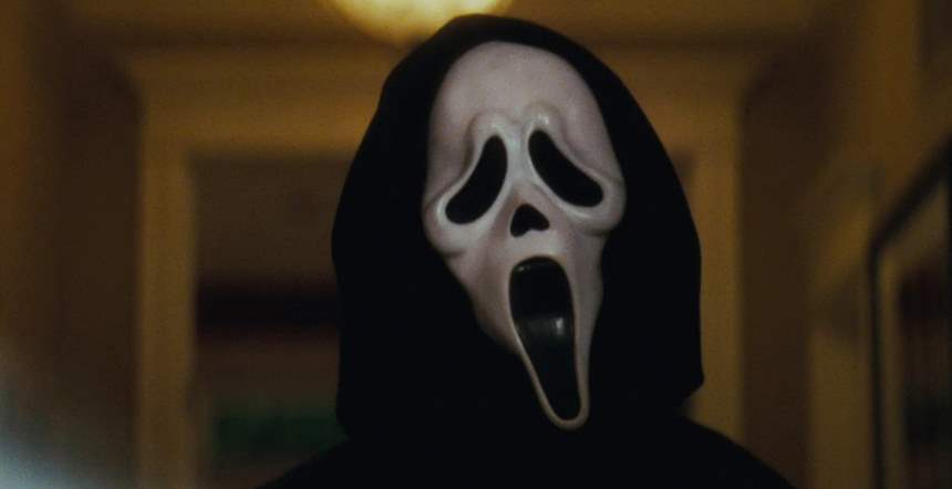 ghostface scream mask