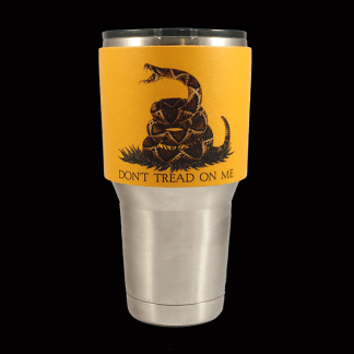 Dont Tread On Me Tumbler Sleeve