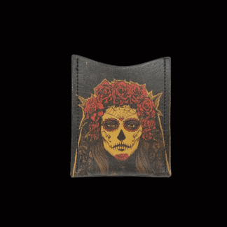 Black Day Dead Girl Card Wallet