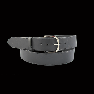 Black Plain Belt