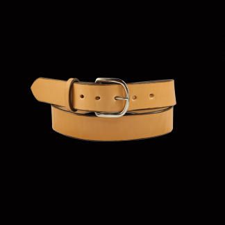 Natural Tan Plain Belt