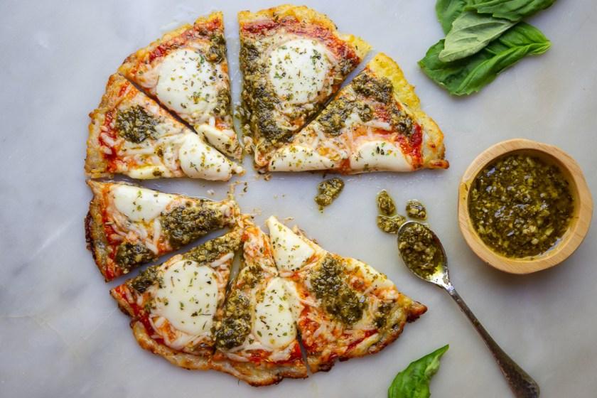 Grain-Free Fried Pizza
