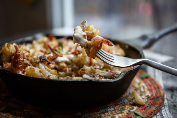 mac and cheese with bacon Keto Side Dish Recipe