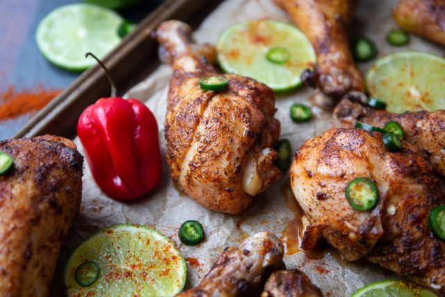 marinated drumsticks