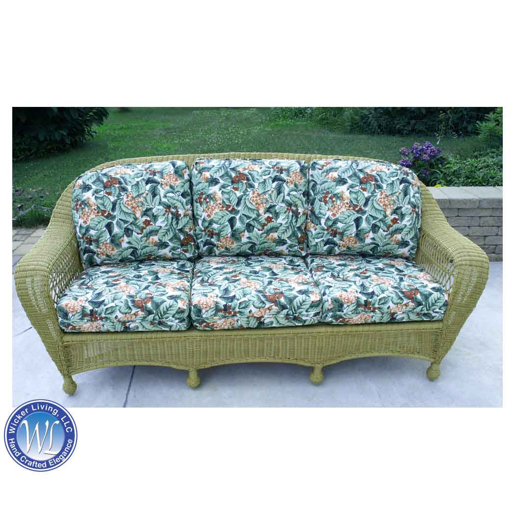 replacement cushions for deep seating outdoor wicker sofa