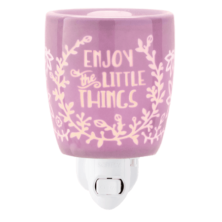 ENJOY THE LITTLE THINGS SCENTSY MINI WAX WARMER