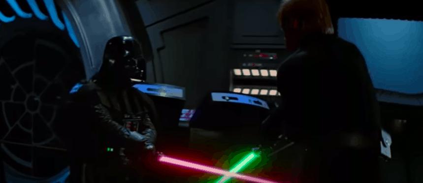 Darth Vader and Luke Fight - Empire Strikes Back
