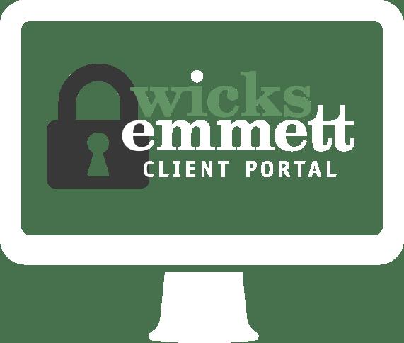 wicks emmett client portal icon