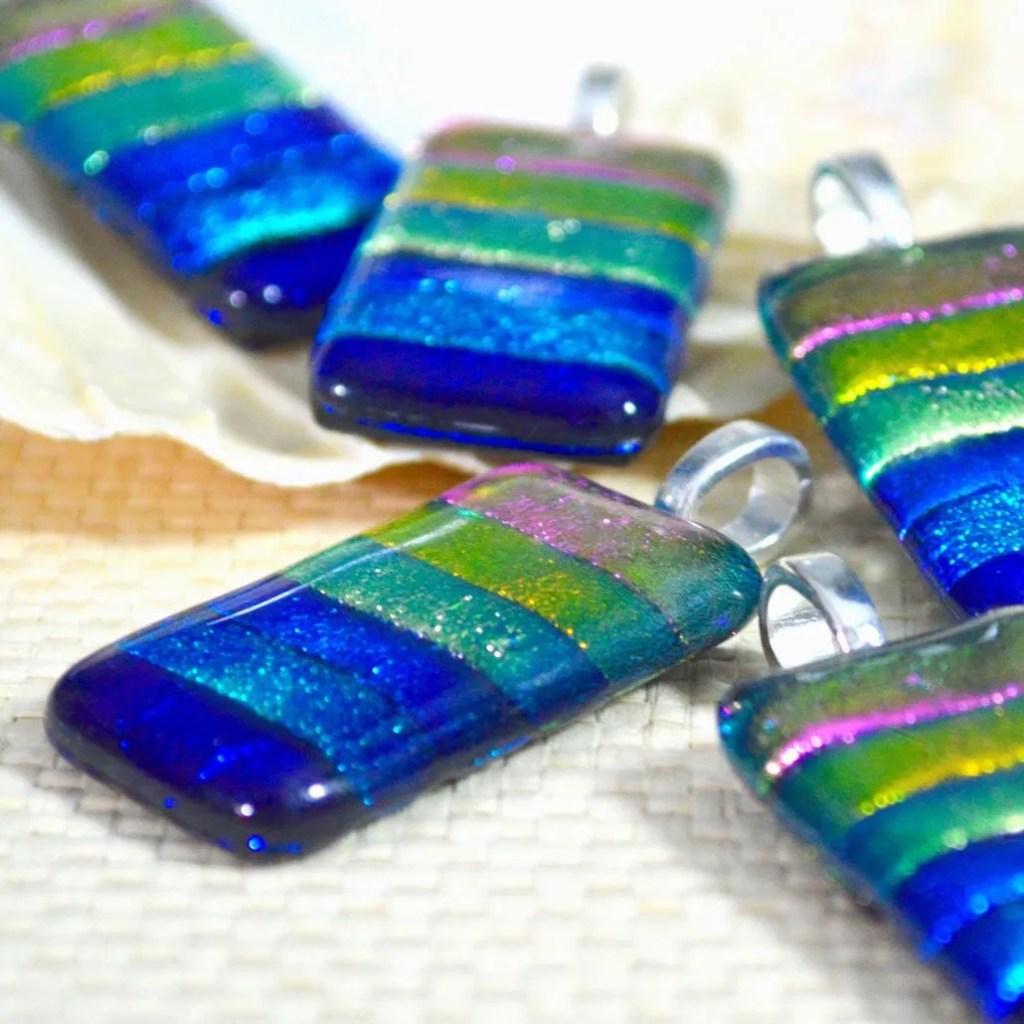 Wickstead's-AW-Designs-UK-Rainbow-Striped-Dichroic-Glass-Pendant-(4)
