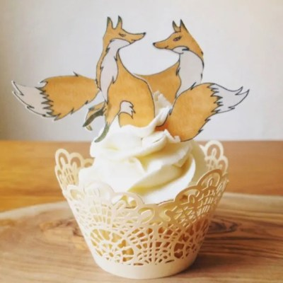 Wickstead's-Eat-Me-Customer-Photo-of-our-Medium-Foxes-Couple-on-a-Cupcake