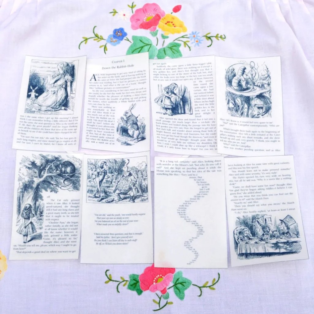 Wickstead's-Eat-Me-Edible-Images-Alice-in-Wonderland-Set-1-Black-White-Book-Pages-(2)