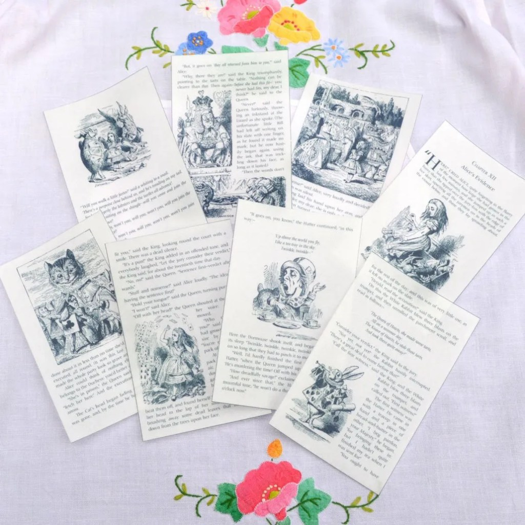 Wickstead's-Eat-Me-Edible-Images-Alice-in-Wonderland-Set-2-Black-White-Book-Pages-(4)