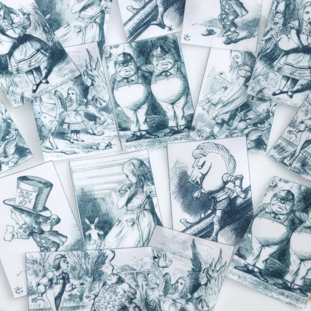 Wickstead's-Eat-Me-Edibles-Tweedle-Dee-Tweedle-Dum-Black-White-Set-4-Med-Wafer-Paper-Rec-(3)