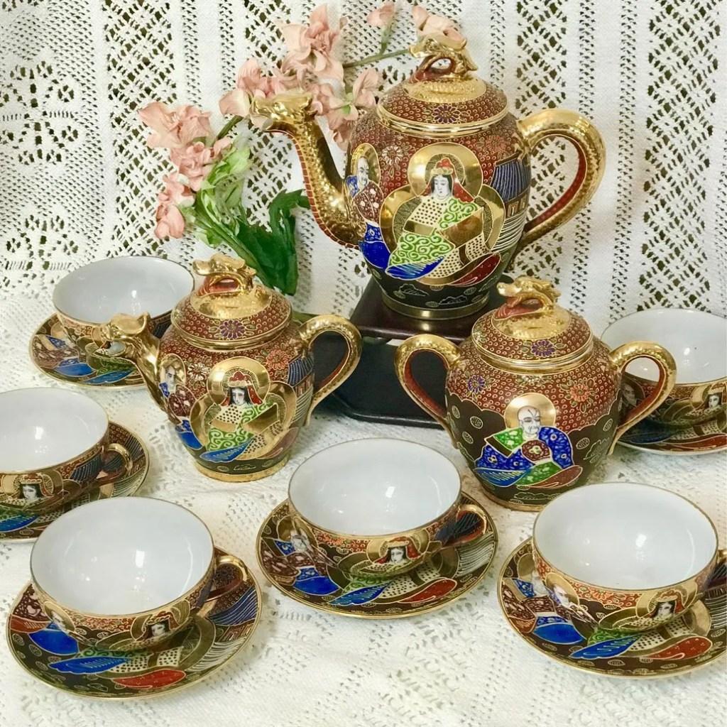 Wickstead's-Japanese-Red-Gold-Dragon-Moriage-Fine-Eggshell-Porcelain-Tea-Set-(4)