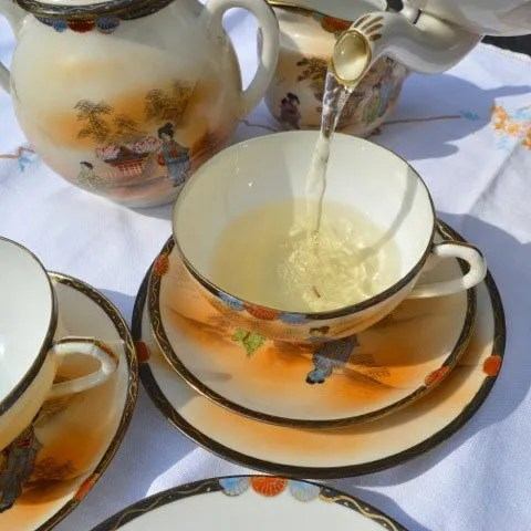 How old is the concept of Tea?