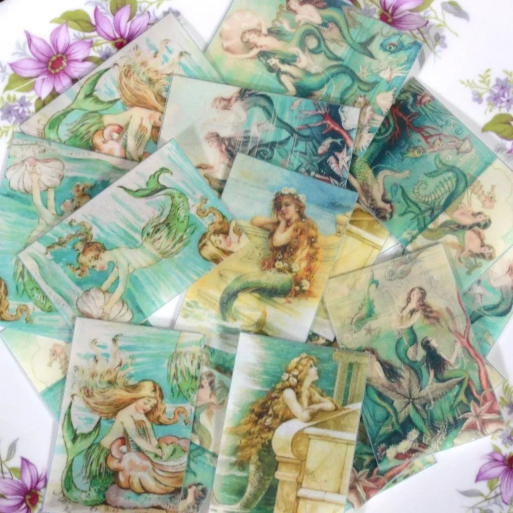 Wickstead's-Eat-Me-Edible-Sugar-Free-Vanilla-Wafer-Rice-Paper-Mermaids-Ocean-Rectangles-(3)