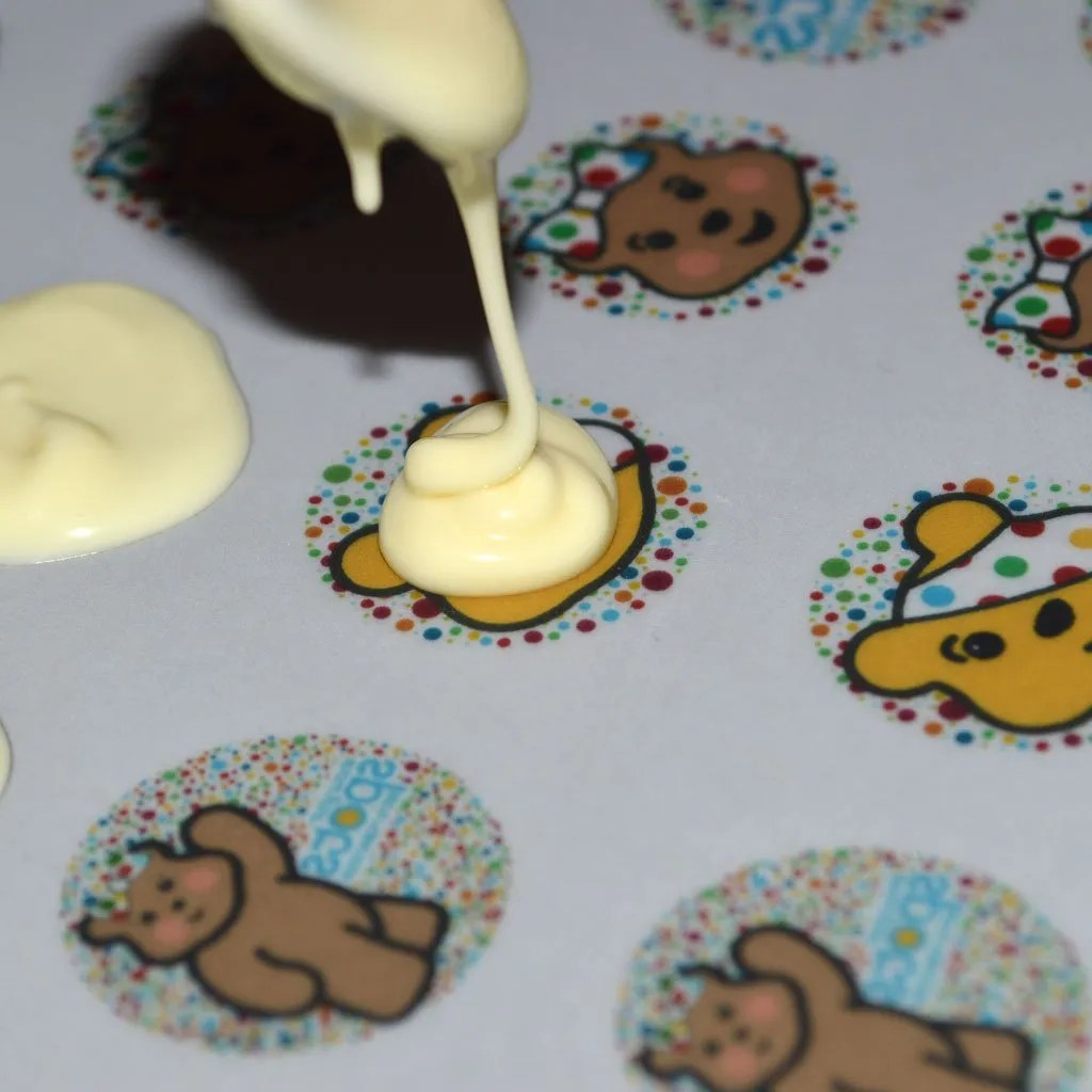 Wickstead's-Eat-Me-Edible-Meringue-&-Chocolate-Transfer-Sheets–Pudsey-&-Blush-Children-in-Need-Charity-Characters-Spots-(3)