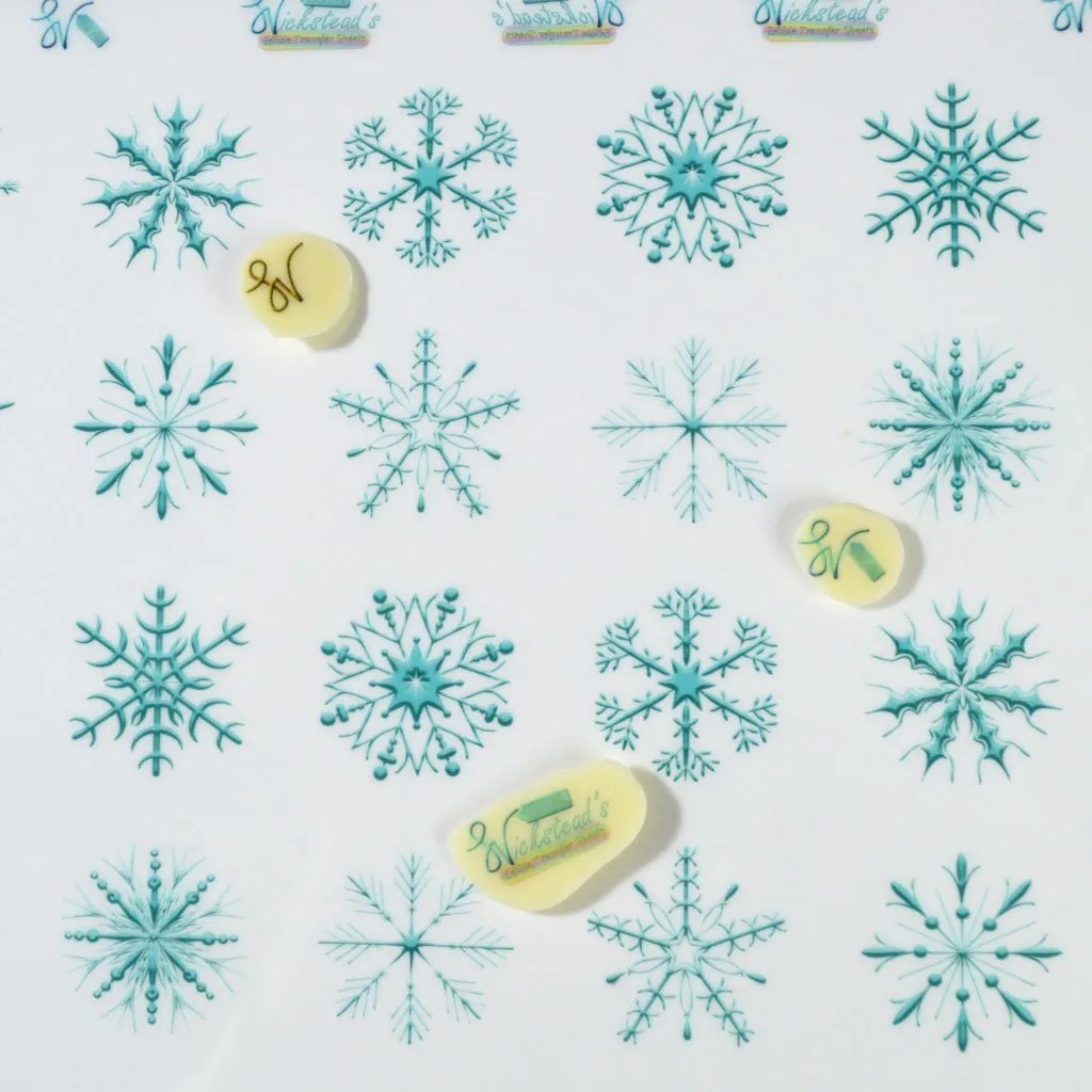 Wickstead's-Eat-Me-Edible-Meringue-&-Chocolate-Transfer-Sheets–Winter-Wonderland-Blue-Frozen-Ice-Snowflakes-(2)
