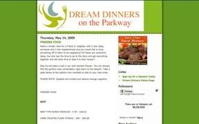 Dream Dinners on the Parkway Blog