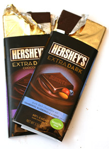 Hershey's Extra Dark Chocolate Bars