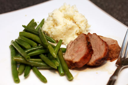 Pork Tenderloin Meal