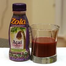 Zola Acai Original Juice
