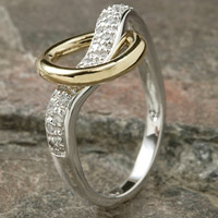 Celebrate Your Faith Circle of Friendship Ring
