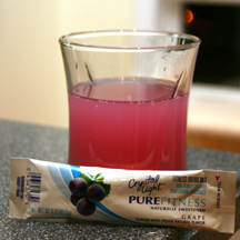 Crystal Light Pure Fitness - Grape