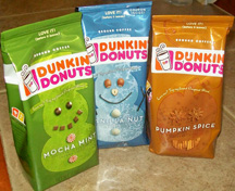 Dunkin Donuts Bags
