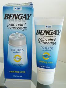 BENGAY Pain Relief + Massage