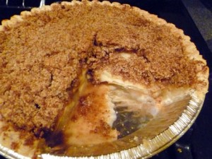Wholly Wholesome Apple Crumb Pie