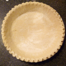 Wholly Wholesome Traditional Pie Shell