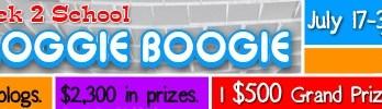 Back 2 School Bloggie Boogie Giveaway Event!