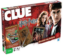 Clue: Harry Potter and the Deathly Hallows Edition