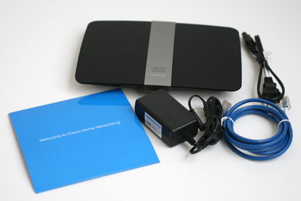 Linksys E4200 Box Contents