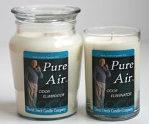 David Oreck's Pure Air Candles – Review