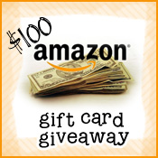 Amazon Gift Card Giveaweay