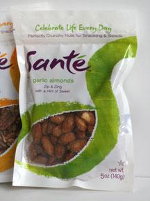 Santé Nuts Garlic Almonds