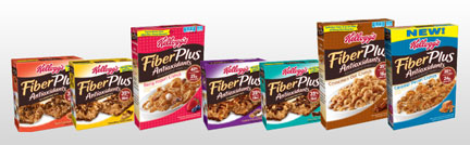 Kellogg's FiberPlus Products
