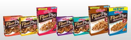Kellogg's FiberPlus Products