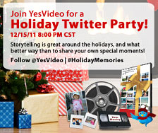 YesVideo Twitter Party