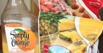 Tropical Surprise Orange Smoothie Recipe