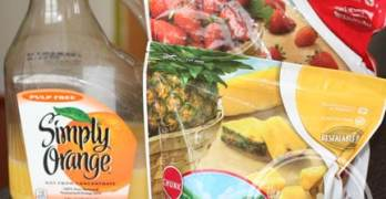 Tropical Surprise Orange Smoothie Recipe