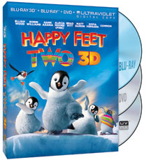 Happy Feet Two on Blu-Ray/DVD