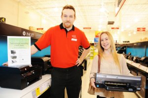 Free Electronics Recycling at Staples