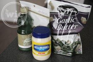 Caesar Crusted Chicken Ingredients
