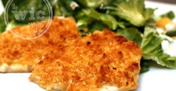 Caesar-Crusted Chicken – Hellmann's Chicken Change-up Giveaway