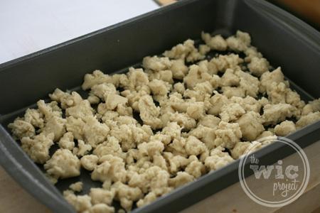 Cookie Crust Crumble